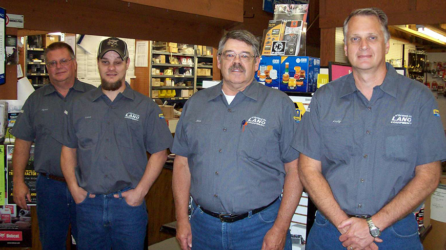 Lano Equipment Parts Staff